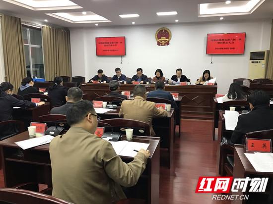 民盟武陵源支部召开换届选举会议