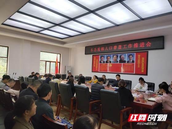 慈利县东岳观镇:宣传摸底并肩行  人口普查稳推进