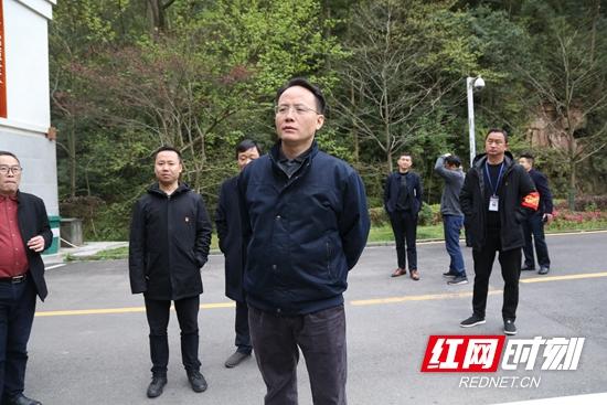 郑小胡调研武陵源区大发麻将产业项目发展