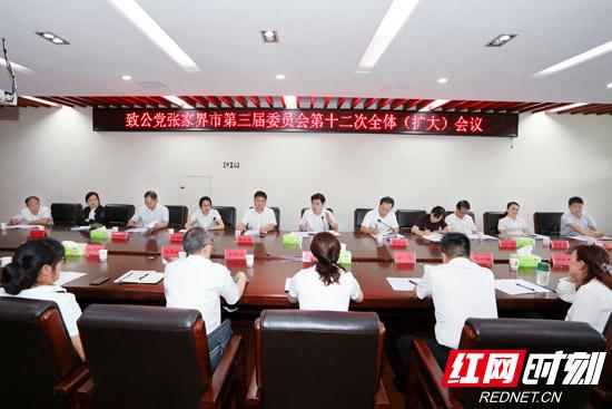 致公党张家界市委会召开届中调整会议
