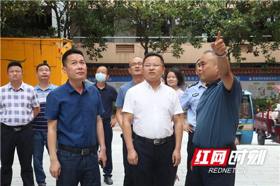 桑植:赵云海带队检查高考学考工作