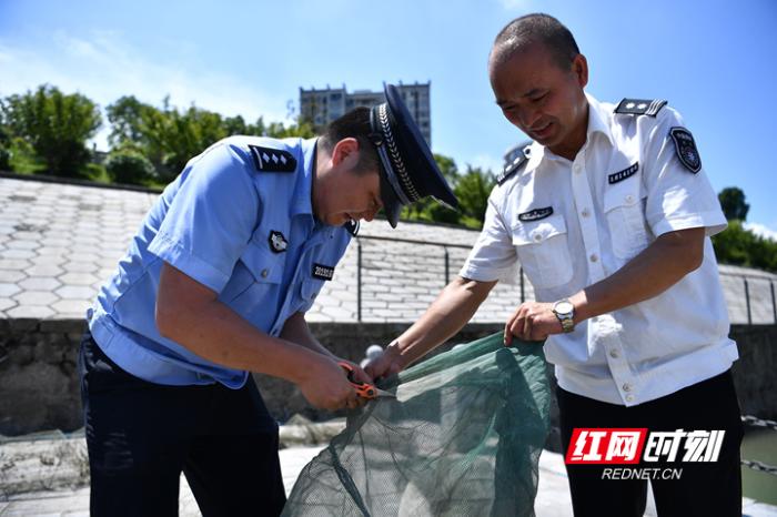 张家界市开展长江流域非法捕捞高发水域首轮巡查执法行动