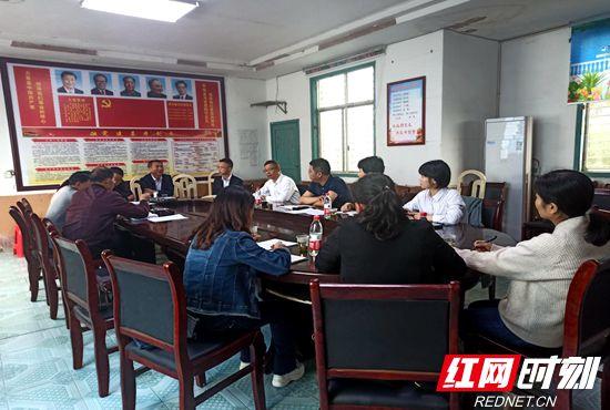慈利县:朱超雄调研指导软弱涣散基层党组织整顿工作