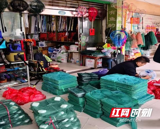 张家界市场监管局开展禁售长江流域非法捕捞渔获物整治行动