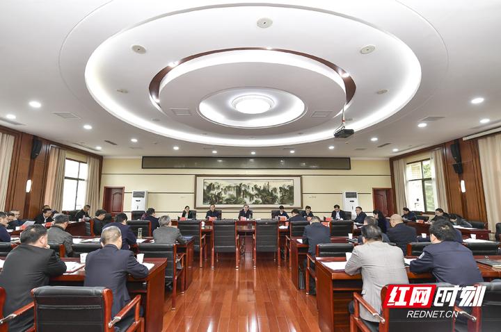张家界市委常委会召开2021年第10次会议