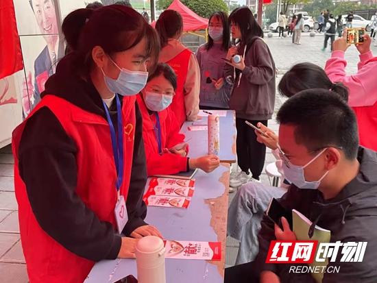 热血青春:无偿献血走进吉首大学张家界学院