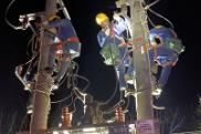 国网西洞庭供电公司凌晨抢修保供电