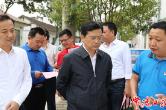 市领导调研禁捕退捕和农村村民建房工作