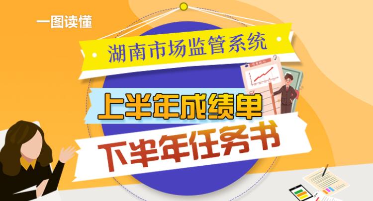 一图读懂湖南市场监管系统上半年成绩单 下半年任务书