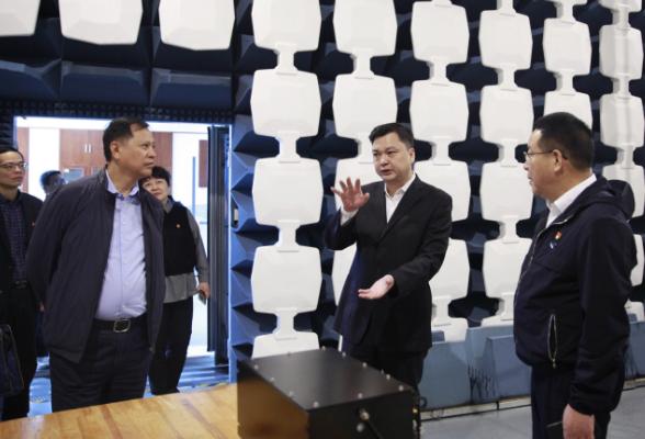 湖南省市场监管局到省计量院调研食品安全等工作