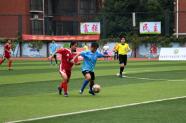 婁底zhuang)亢鮮〉謁慕jie)中學生運動(dong)會足球比賽(sai)男女雙(shuang)冠