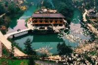 湖南新化:奉嘎山的桃花开了