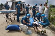雙峰縣人民醫院組織開展突發群體公共衛生事件(jian)醫療救治應急演練