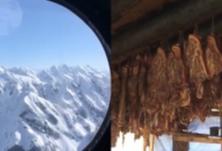 肉、奶、果、蔬一应俱全!首批过冬物资飞抵西藏边防哨卡