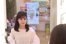 """愿望成真 日本美发店""""魔镜""""可预览发型"""