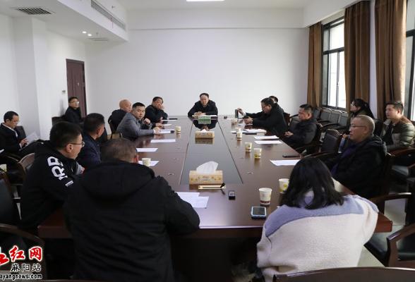 李卫林主持召开麻阳县重点建设项目调度会