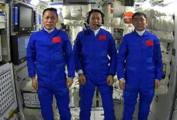 直播丨习近平总书记同神舟十二号航天员天地通话