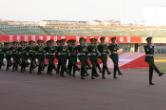 中南大学举办2021级本科新生军训成果汇报暨总结表彰大会
