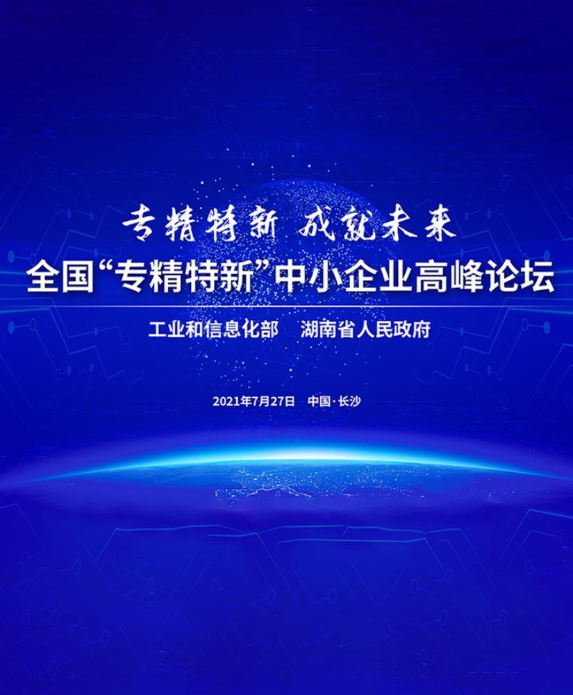 """專題丨專精特新 成就未來——全國""""專精特新""""中小企業高峰論壇"""