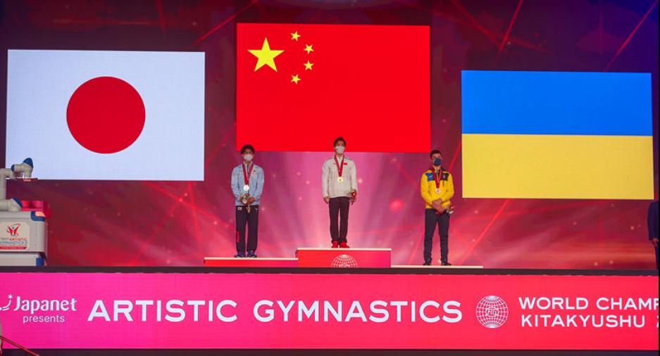 中国体操5金创近9届世锦赛最好成绩