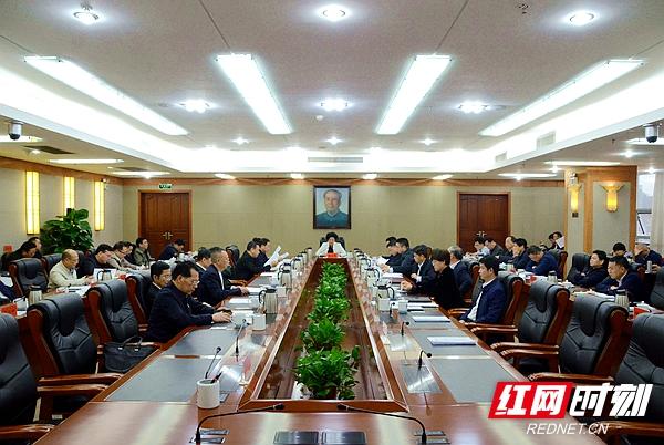 湘潭市委常委会第183次会议召开(图)