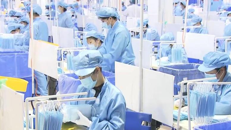 湖南日产儿童口罩200万只 下周起日产能将超400万只