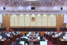 省十三届人大常委会举行第十七次会议 杜家毫主持 决定任命朱忠明为副省长