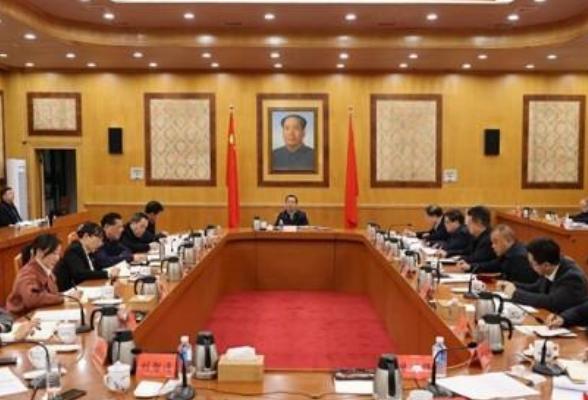 许达哲主持省委常委会会议 研究部署做好市县乡领导班子换届等工作