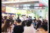 视频 | 长沙地铁5月1日客流强度全国第一