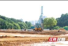 浏阳:新屋岭小学进入实质性建设阶段