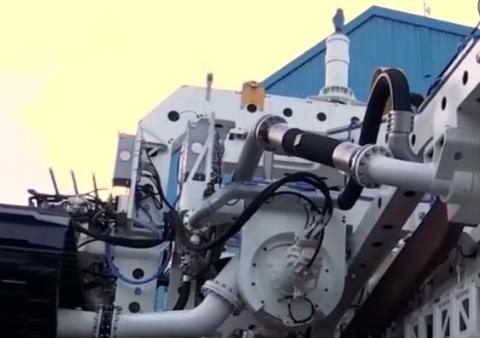 株洲:时代电气海底挖沟机交付荷兰