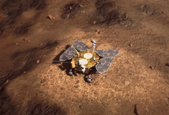 """视频   震撼直拍,""""天问一号""""火星大片再度来袭!"""