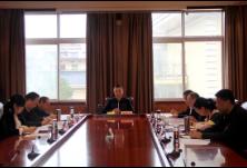 怀化市委统战部召开理论学习中心组(扩大)集中学习和部务会议