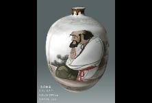 大师话醴瓷丨朱占平:恒心悟道,潜心画瓷