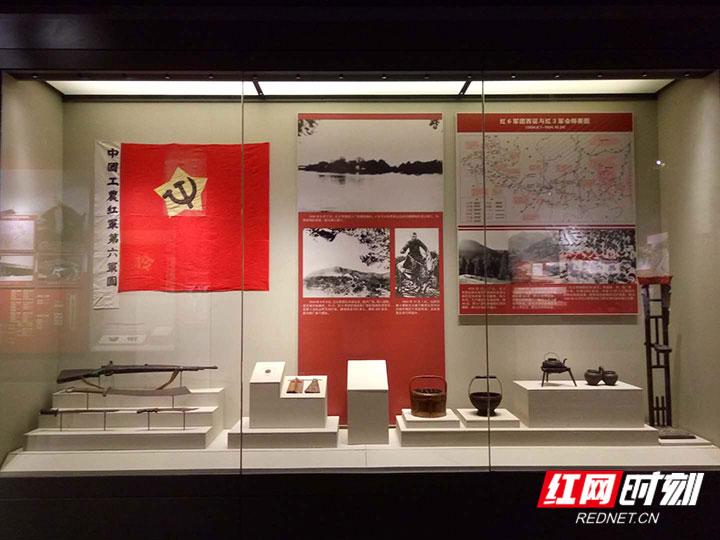 红二方面军长征出发地纪念馆-馆内-展厅陈列1.jpg