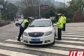 武陵源交警全力护航清明节期间道路交通安全