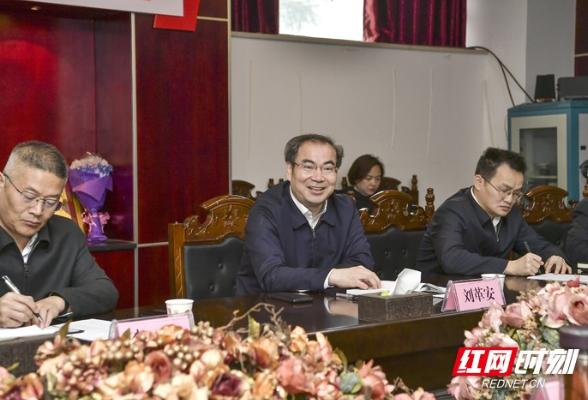 刘革安走访调研市委有关部门和单位