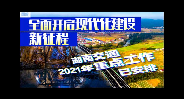 图解:全面开启现代化建设新征程 湖南交通2021年重点工作已安排