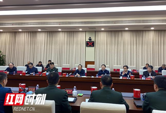 许达哲赴国防科技大学看望慰问师生官兵和科研人员
