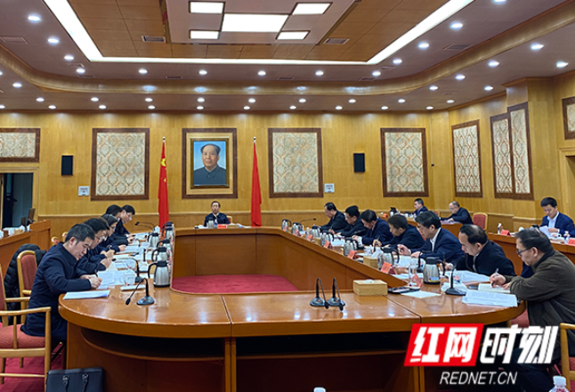 许达哲主持召开省委审计委员会第五次会议