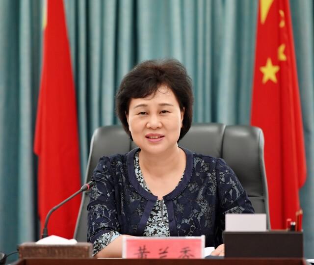 黄兰香:加强政治引领,凝聚侨心侨力