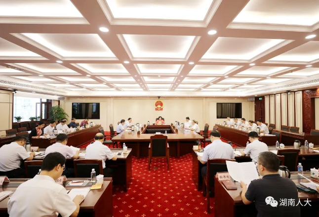 省人大常委会党组召开会议传达学习习近平总书记重要讲话精神