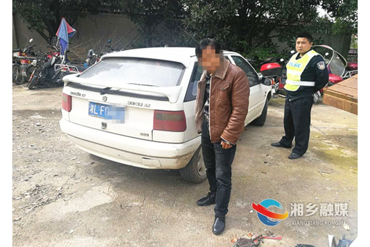 公安局:查处一起无证驾驶报废套牌车违法行为