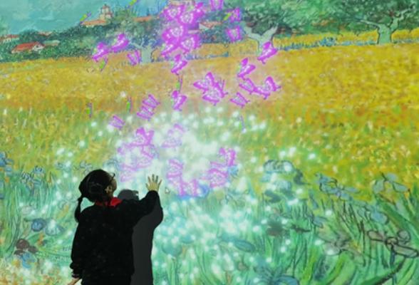 VR+艺术,这是与梵高有关的一次特别画展