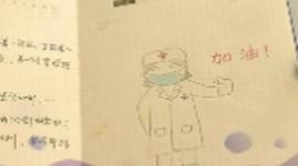 """长沙医护为患儿手绘""""打怪日记"""""""