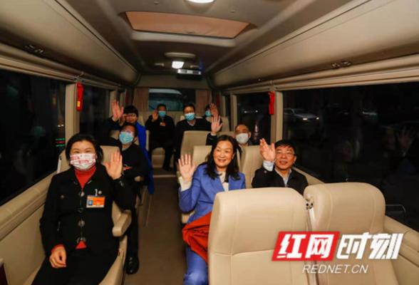 出发!住湘全国政协委员今日启程赴北京参加全国两会