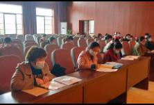 【复学复课】隆回县特殊教育学校为复课开展教师新冠肺炎防疫知识培训
