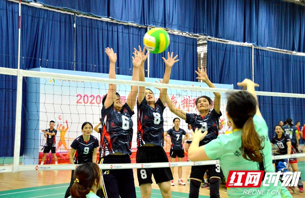 """2020年""""恒佳杯""""湖南省气排球比赛在湘潭开赛(图)"""
