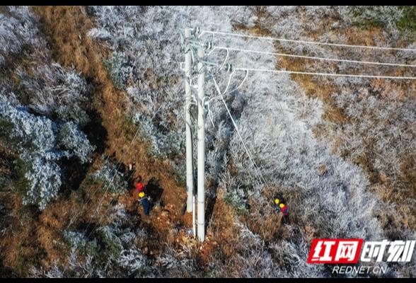 雪中特巡保供电