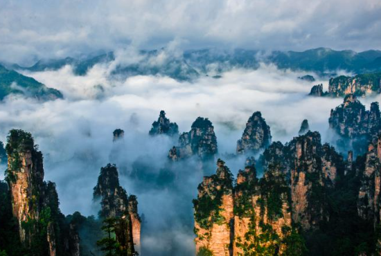 云雾天子山